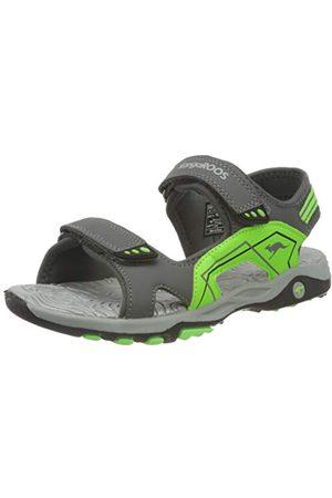 KangaROOS Unisex vuxna K-everest sandaler, Stål neon lime37 EU