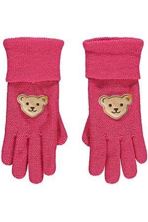 Steiff Styv flicka med söt teddycarrypplikation handskar