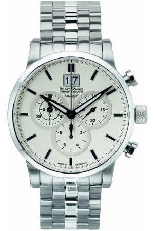 Soehnle Bruno Söhnle herr Chronograph kvartsur med rostfritt stål armband 17–13084–242
