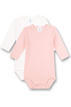 Sanetta Baby flicka beige kropp i dubbelpack