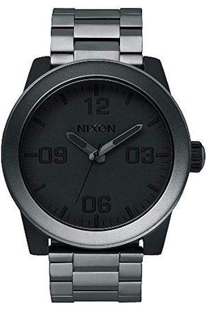 Nixon Herr analog kvartsklocka med rostfritt stål belagt armband A3461062-00