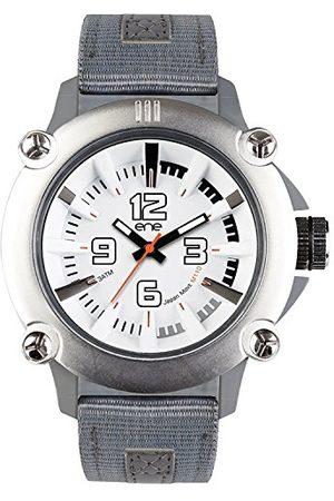Eñe Analog kvartsklocka för män med nylonrem 640000109