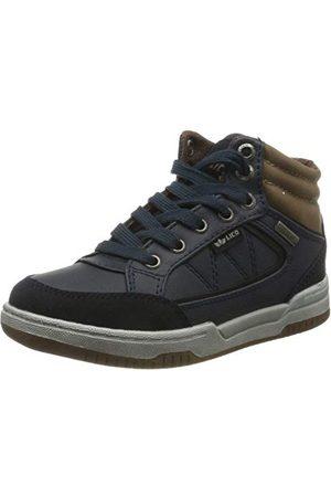 LICO Pojkar målade höga sneaker, marinbrun marin brun29 EU