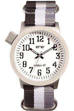 Eñe Herr analog kvartsklocka med nylonarmband E71923