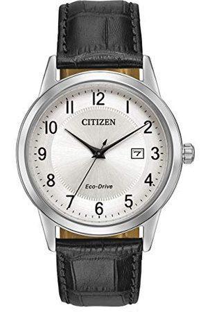 Citizen Herr analog kvartsklocka med läderarmband AW1231-07A