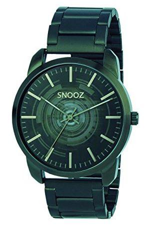 Snooz Herr analog kvartsklocka med rostfritt stålrem Saa1043-62