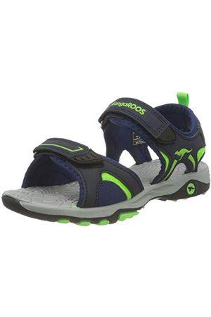 KangaROOS Pojkar K-mont sandal, Dk marinblå lime31 EU
