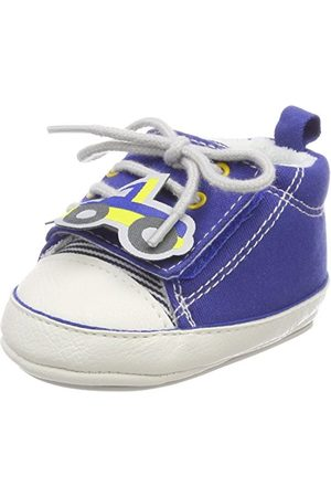 Sterntaler Baby-pojkar skor tofflor, blå16 EU