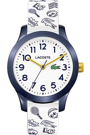 Lacoste Unisex-barn analog klassisk kvartsklocka med silikonrem 2030011
