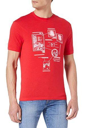 Armani Herr bomullströja absolut t-shirt