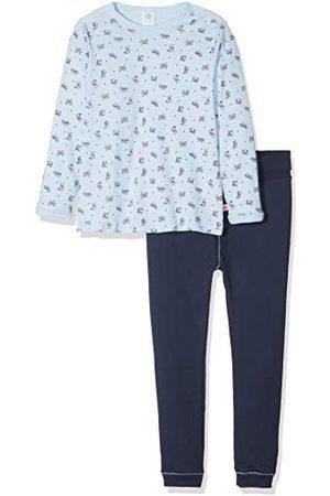 Sanetta Baby-pojkar pyjamas lång tvådelad sovdräkt