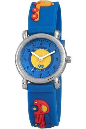 Excellanc Unisex-armbandsur analog kvarts gummi 407023000036