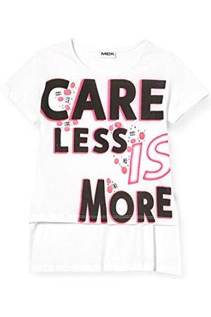 MEK T-shirt för flickor M/M Jersey Leggero Con St. + appl. knät tank top