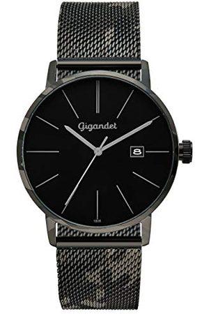 Gigandet Analog kvarts klocka med rostfritt stål armband G42-017