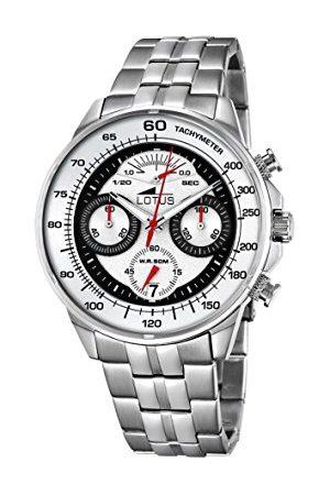 Lotus Herr analog kvartsklocka med rostfritt stål armband 10129/1