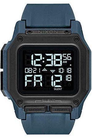 Nixon Herr digital kinesisk automatisk klocka med plastarmband A1180-2889-00