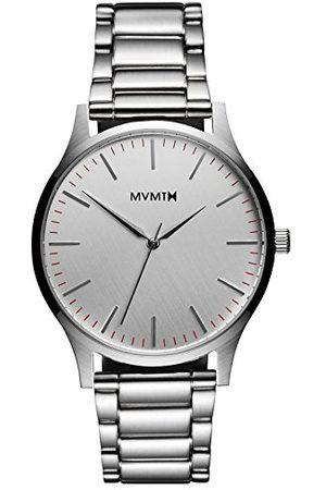 MVMT Analog kvartsklocka för män med rostfritt stål D-MT01-S