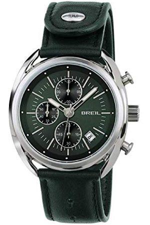 Breil Herr kronograf kvartsur med läderarmband TW1515