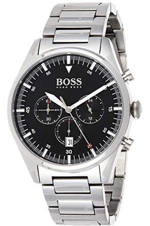 HUGO BOSS Herr analog kvartsklocka med rostfritt stålrem 1513712