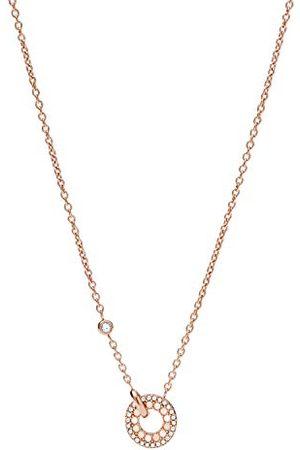 Fossil Halsband vänster hänge pärlemor rostfritt stål roséguldfärgad, JF03543791