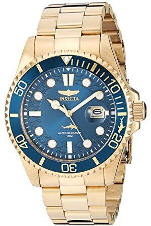 Invicta Herr analog kvartsklocka med rostfritt stålrem 30024