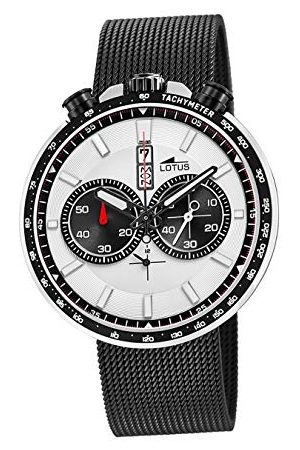 Lotus Herr Chronograph kvartsklocka med rostfritt stål armband 10139/1