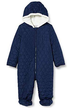 Sanetta Baby-pojkar djupblå quiltad utomhus overall i mörkblå femtiosju