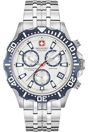 Swiss Military Hanowa SWISS MILITARY-HANOWA män analog kvartsklocka med rostfritt stål armband 06-5305.04.001.03