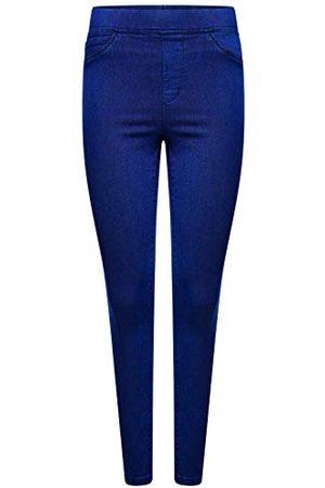 M17 Dam 5056242773849 stretch skinny fit jeans jegging denim casual klassiska byxor byxor byxor med fickor (16, )