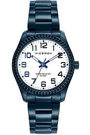 Viceroy Herr analog kvarts smartklocka armbandsur med rostfritt stål armband 40860-34
