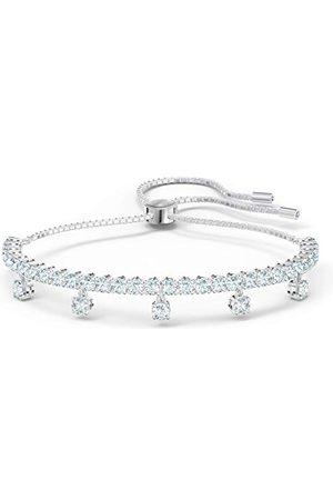 Swarovski Subtil Drops-armband, , rodiumpläterad, en storlek, 5556913