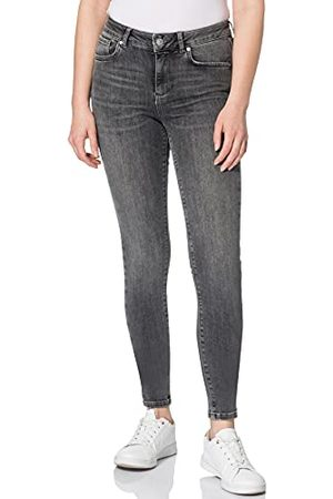 VERO MODA Damer VMLUX MR Slim BA2166 GA jeans, medium denim, M/32