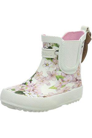 Bisgaard Flicka Rubber Boot Baby gummistövlar, krämblommor 171-26 EU