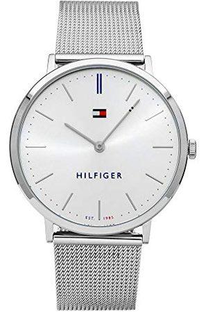 Tommy Hilfiger Unisex vuxna analog kvartsklocka med rostfritt stål armband 1781690