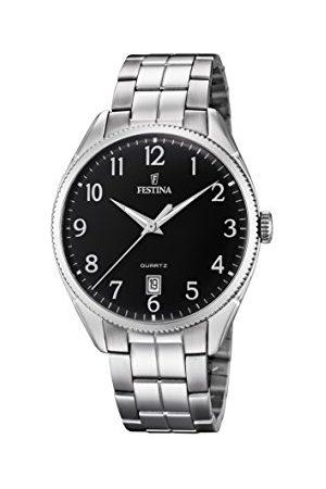 Festina Herr analog automatisk klocka med rostfritt stål armband F16976/2