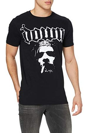 Down Herr ansikte kortärmad t-shirt