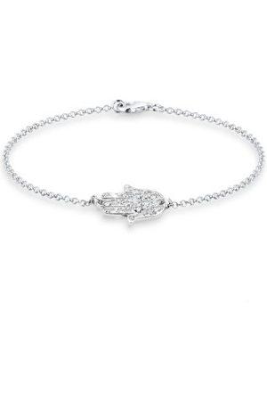 Elli Dam armband Hamsa hand 925 sterlingsilver Swarovski kristall glasögonslipning 0210452413_18 e , colore: , cod. 0210452413_18