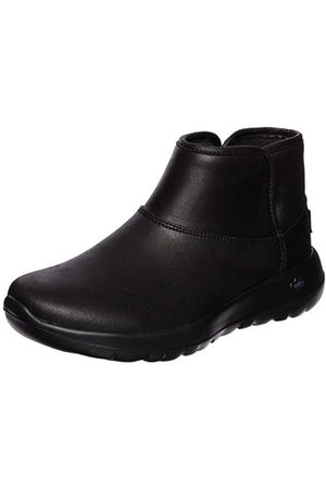 Skechers Kvinnors gå glädje ankelstövlar, Black Black Textile Bbk35.5 EU