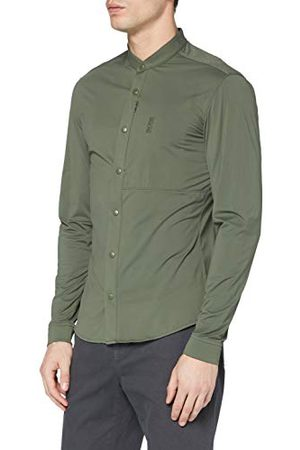 HUGO BOSS Herr Bonaventura_s Henley-skjorta