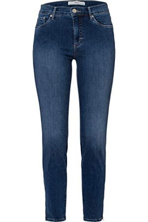 Brax Shakira S Free to Move Five Pocket Skinny Sportiv jeans, blå (använd Regular Blue 25), 48