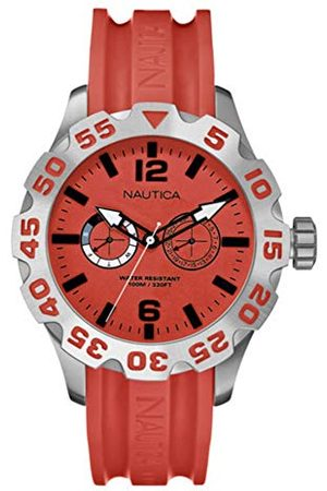 Nautica Herr analog kvartsklocka med plastarmband A16602G