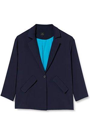 Armani Armani utbyte dam texturerad twill business casual blazer