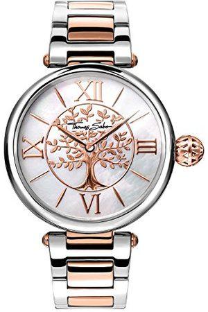Thomas Sabo Kvinnor analog kvartsklocka med rostfritt stålrem WA0315-272-213-38 mm