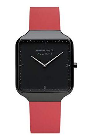 Bering Herr analog kvartsklocka med silikonarmband 15836-523