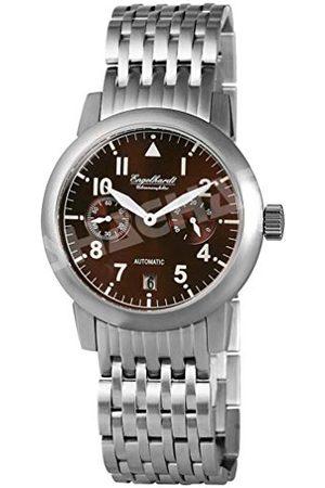 Engelhardt Män analog mekanik klocka med rostfritt stål armband 388927028002
