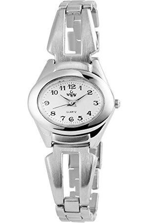 WWW Flicka analog kvartsklocka utan armband 100422000270