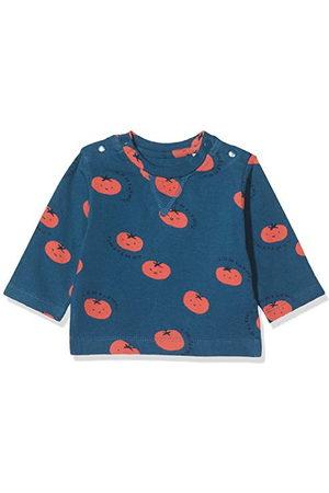 Imps & Elfs Baby-pojkar B Regular T-shirt Ls Temba AOP långärmad tröja