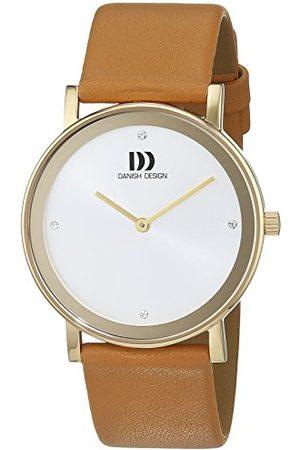 Danish Design Dansk design damarmbandsur analog kvarts läder 3320209
