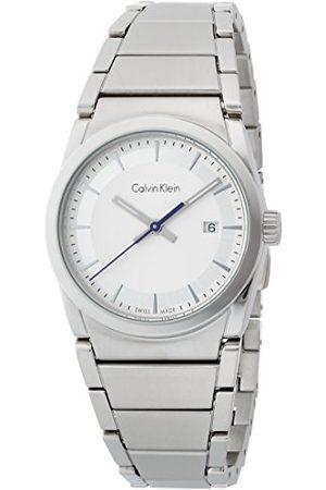 Calvin Klein Calvin liten herr analog kvartsklocka med rostfritt stål armband K6K33146