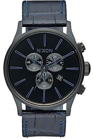 Nixon Unisex-armbandsur The Sentry analog kvarts läder A4052153-00